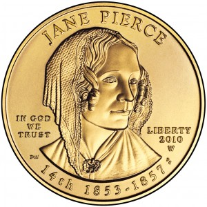 sample image for 2010-W Jane Pierce $10  MS