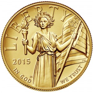 sample image for 2015-W Liberty $100  MS High Relief