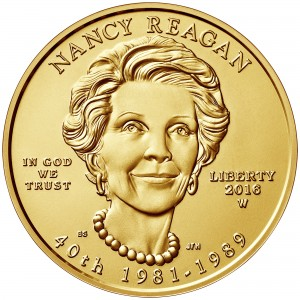 sample image for 2016-W Nancy Reagan $10  MS