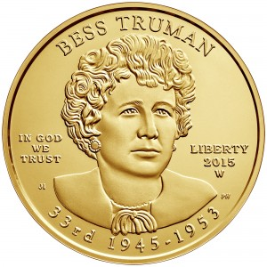 sample image for 2015-W Bess Truman $10  MS