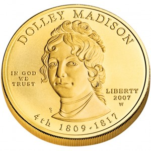 sample image for 2007-W Dolley Madison $10  MS