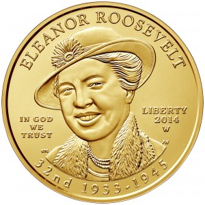 sample image for 2014-W Eleanor Roosevelt $10  MS