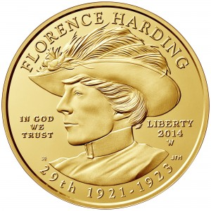 sample image for 2014-W Florence Harding $10  MS