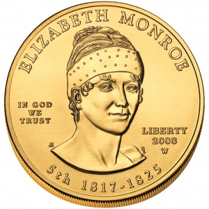 sample image for 2008-W Elizabeth Monroe $10  MS