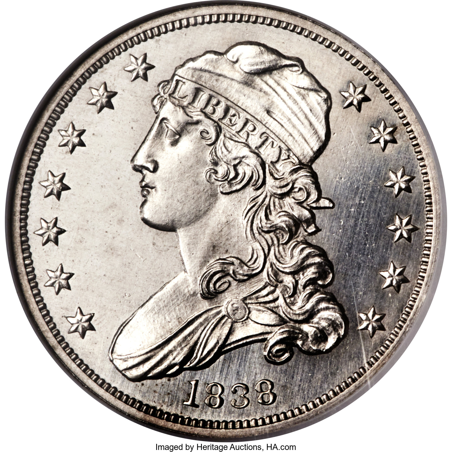 sample image for 1838 Capped Bust 25c PR