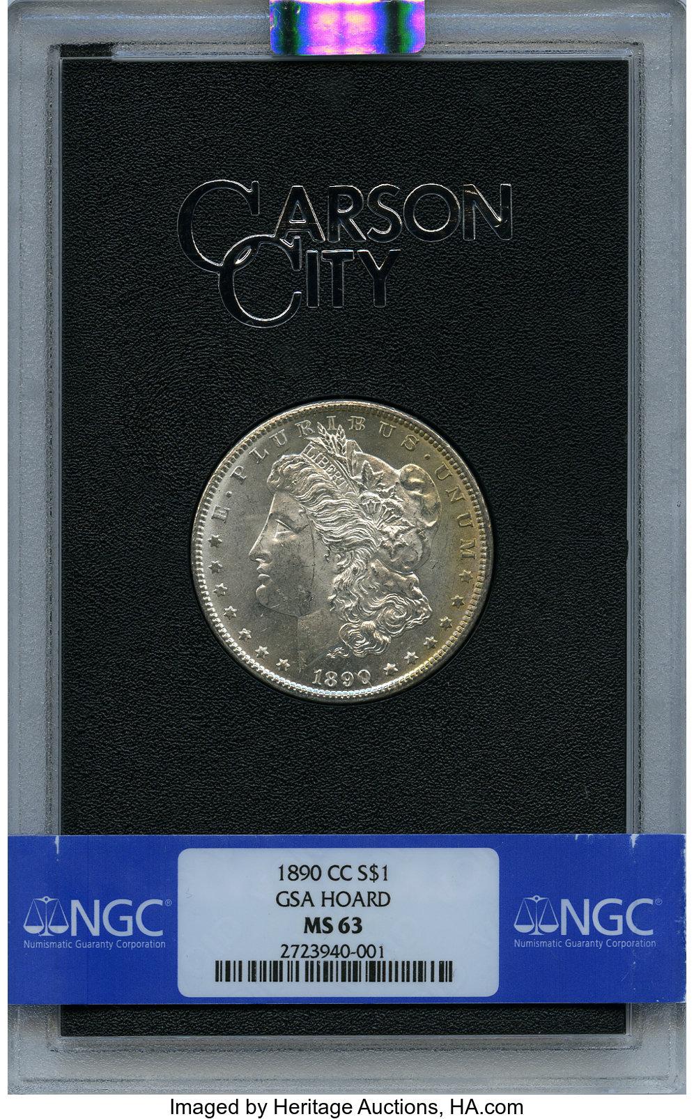 sample image for 1890-CC $1  MS GSA Hoard