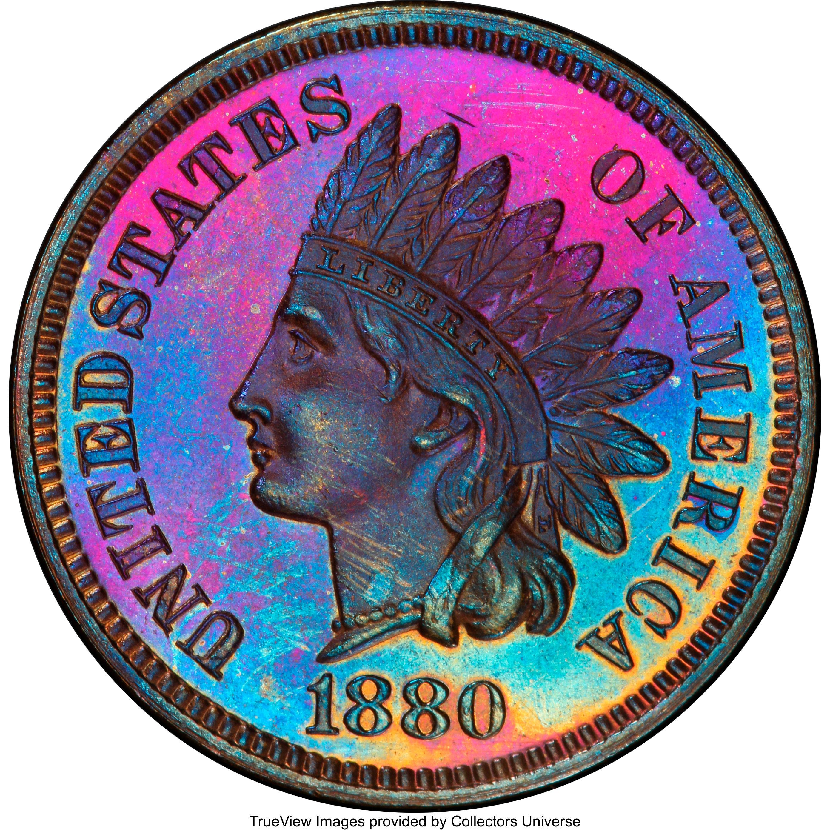 sample image for 1880 1c PR BN