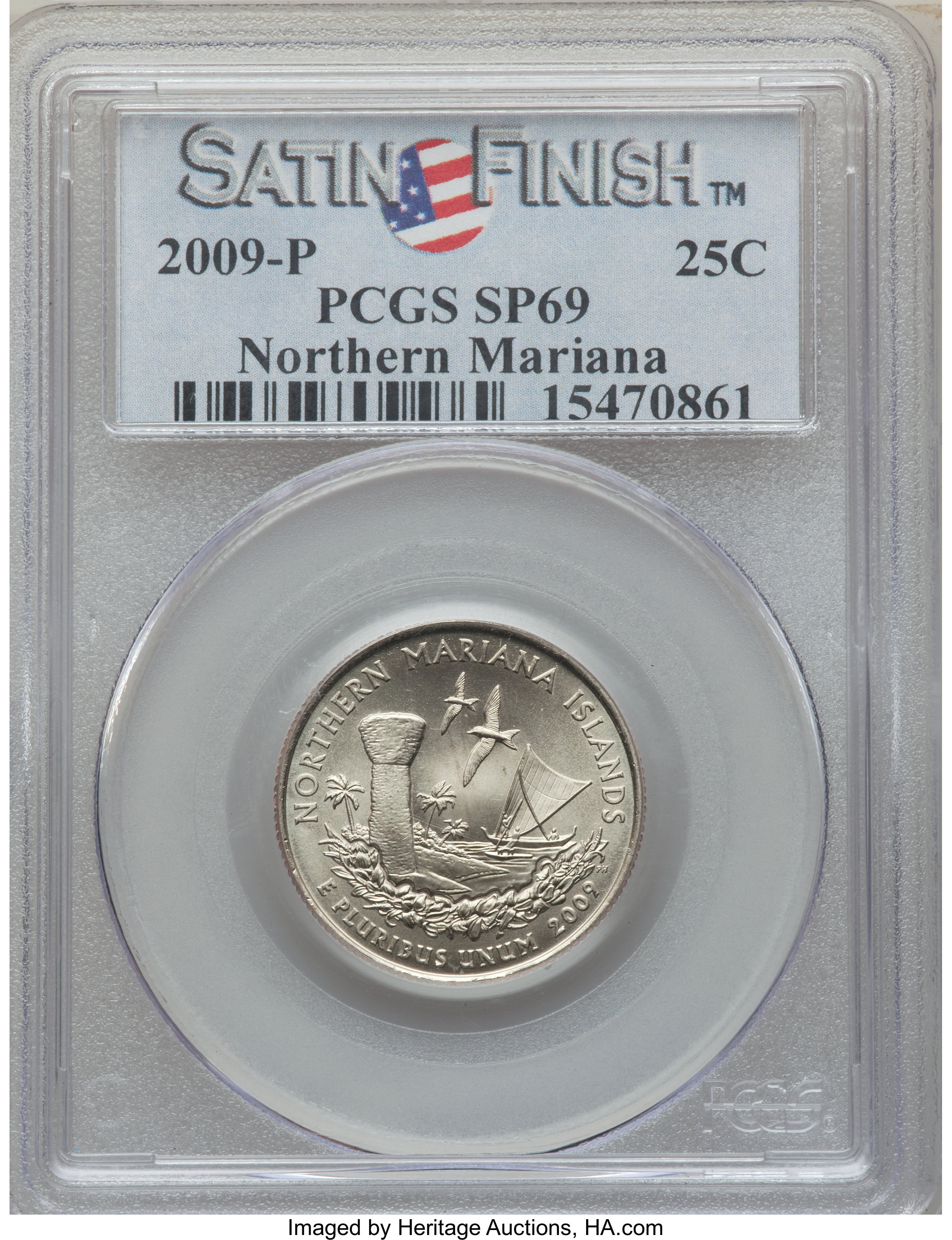 sample image for 2009-D Northern Mariana Islands 25c SP Satin