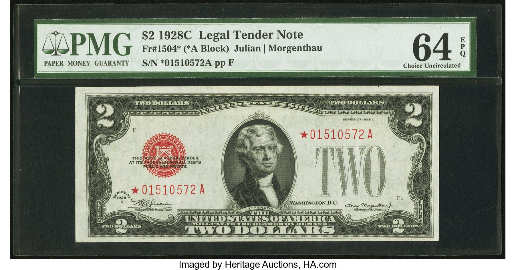 sample image for 1928C $2  (Fr.# 1504*)