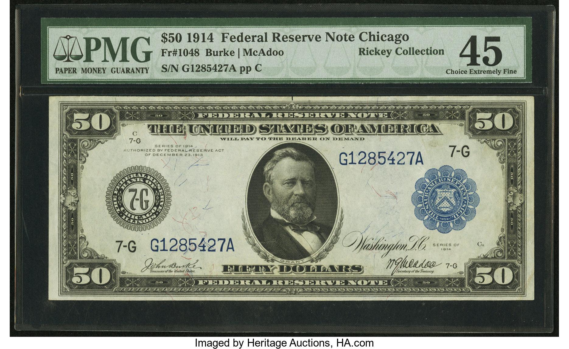 sample image for Fr.1048 $50 Chicago