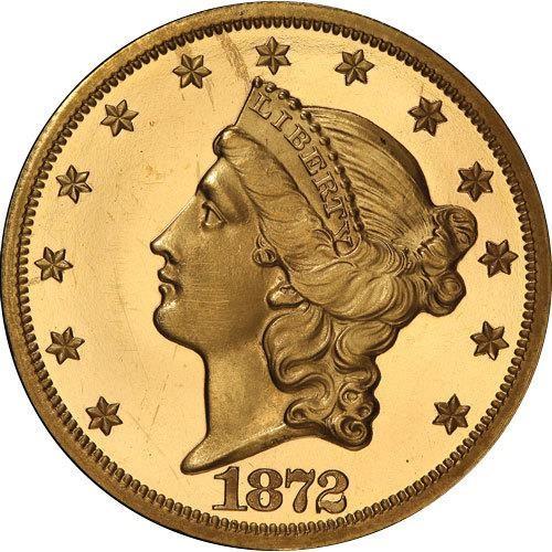 sample image for 1866-1876 Type 2 $20  PR [Type]