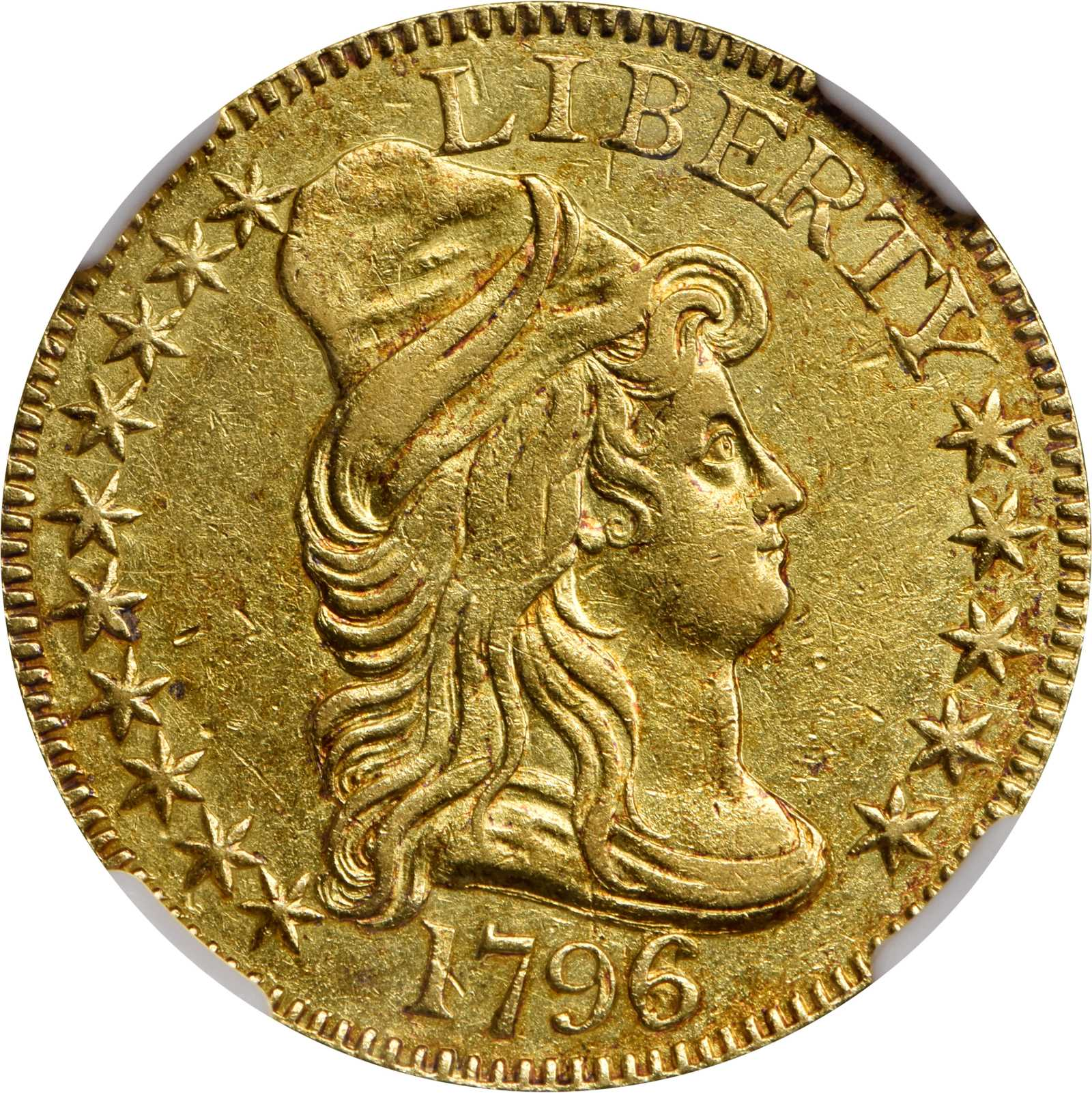sample image for 1796/5 Small Eagle $5  MS