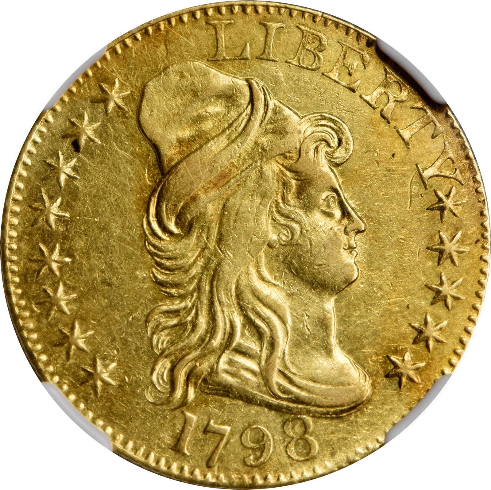 sample image for 1798 Large Eagle $5  MS