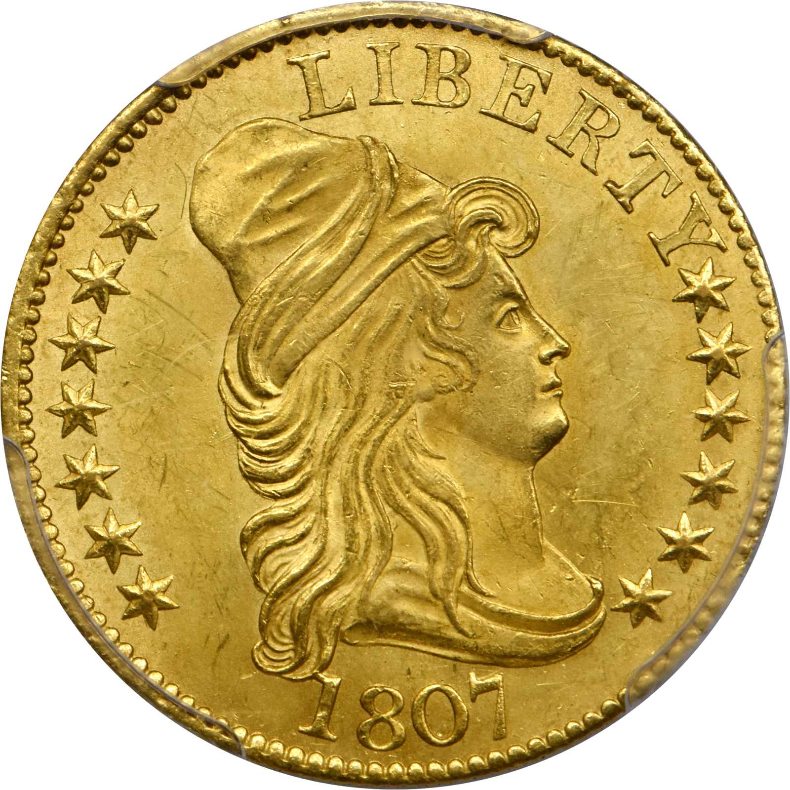 sample image for 1807 $5  MS Bust facing Right