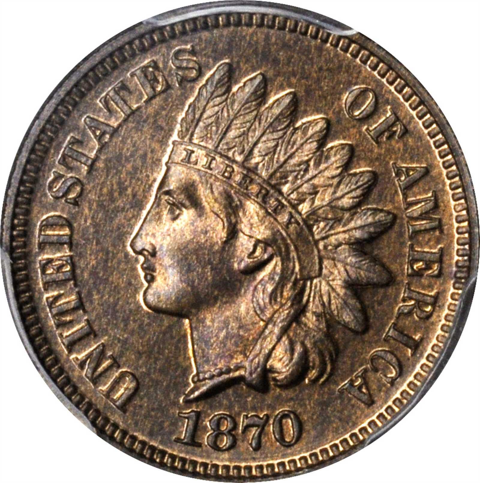 sample image for 1870 1c PR BN