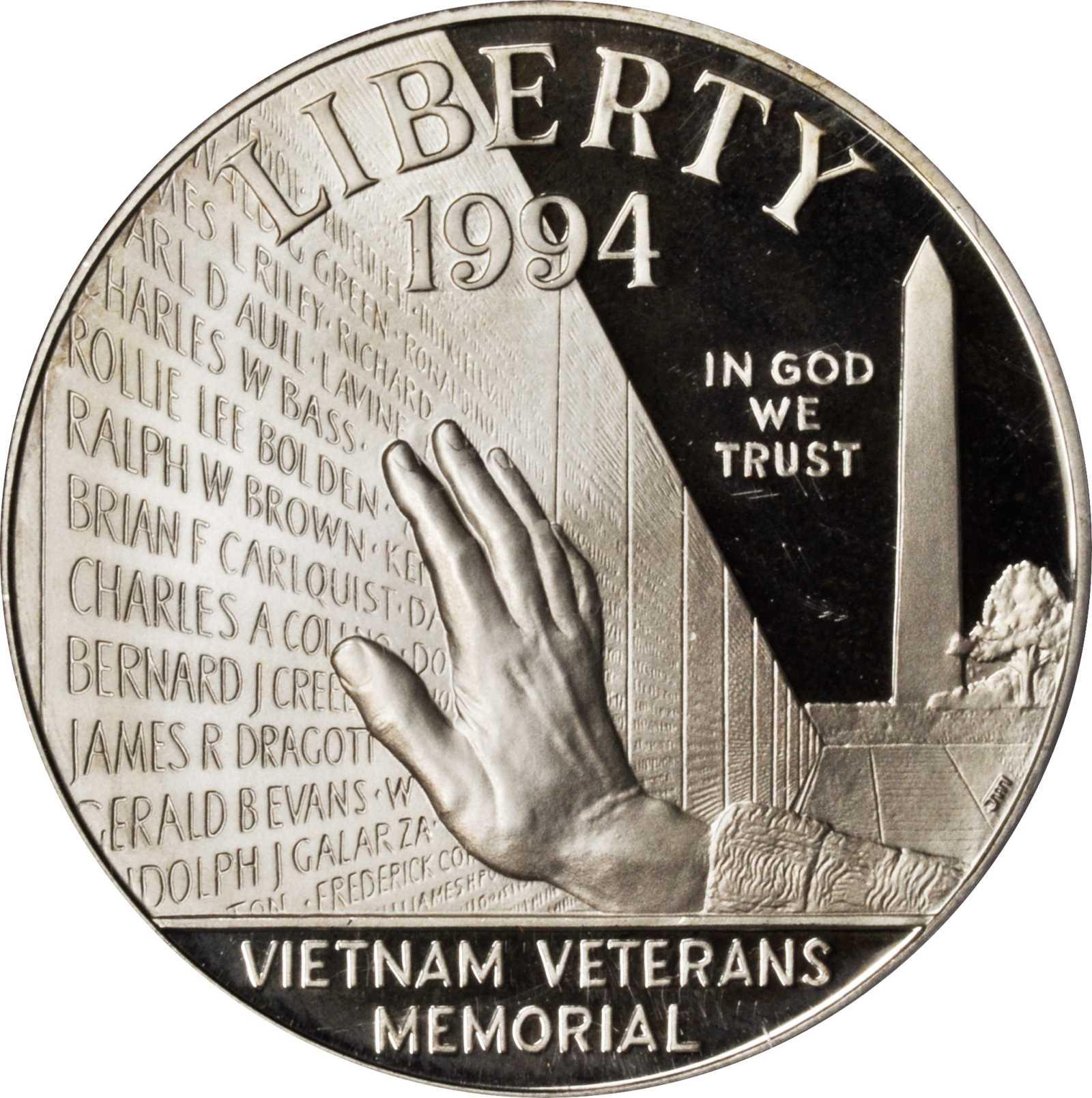 sample image for 1994-P Vietnam $1  PR DCAM