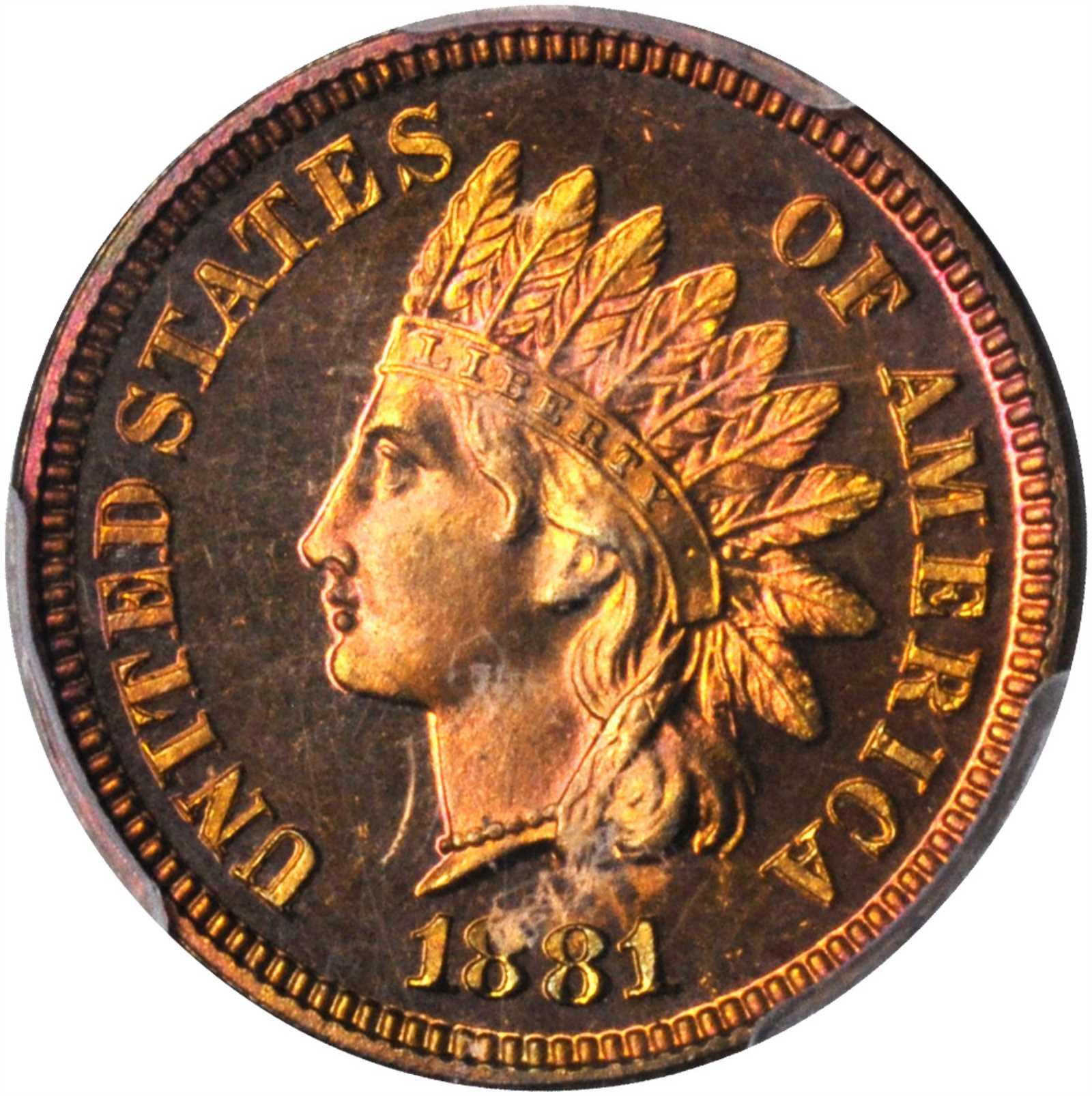 sample image for 1881 1c PR RB