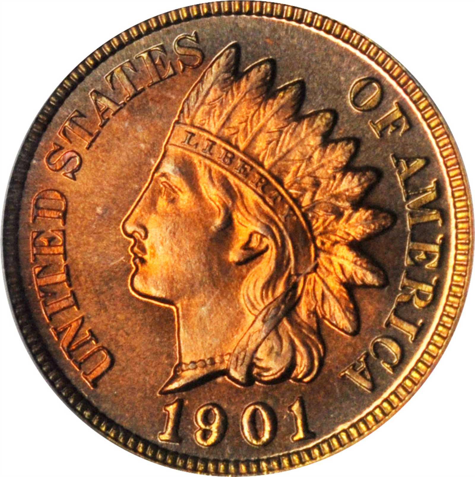 sample image for 1901 1c PR RB