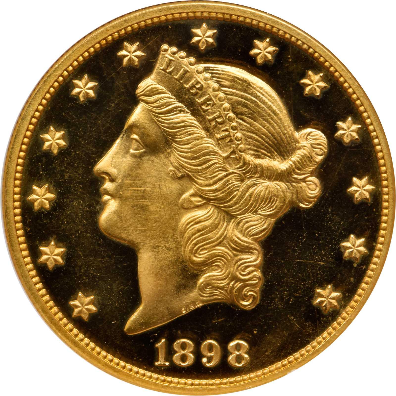 sample image for 1877-1907 Type 3 $20  PR CAM [Type]