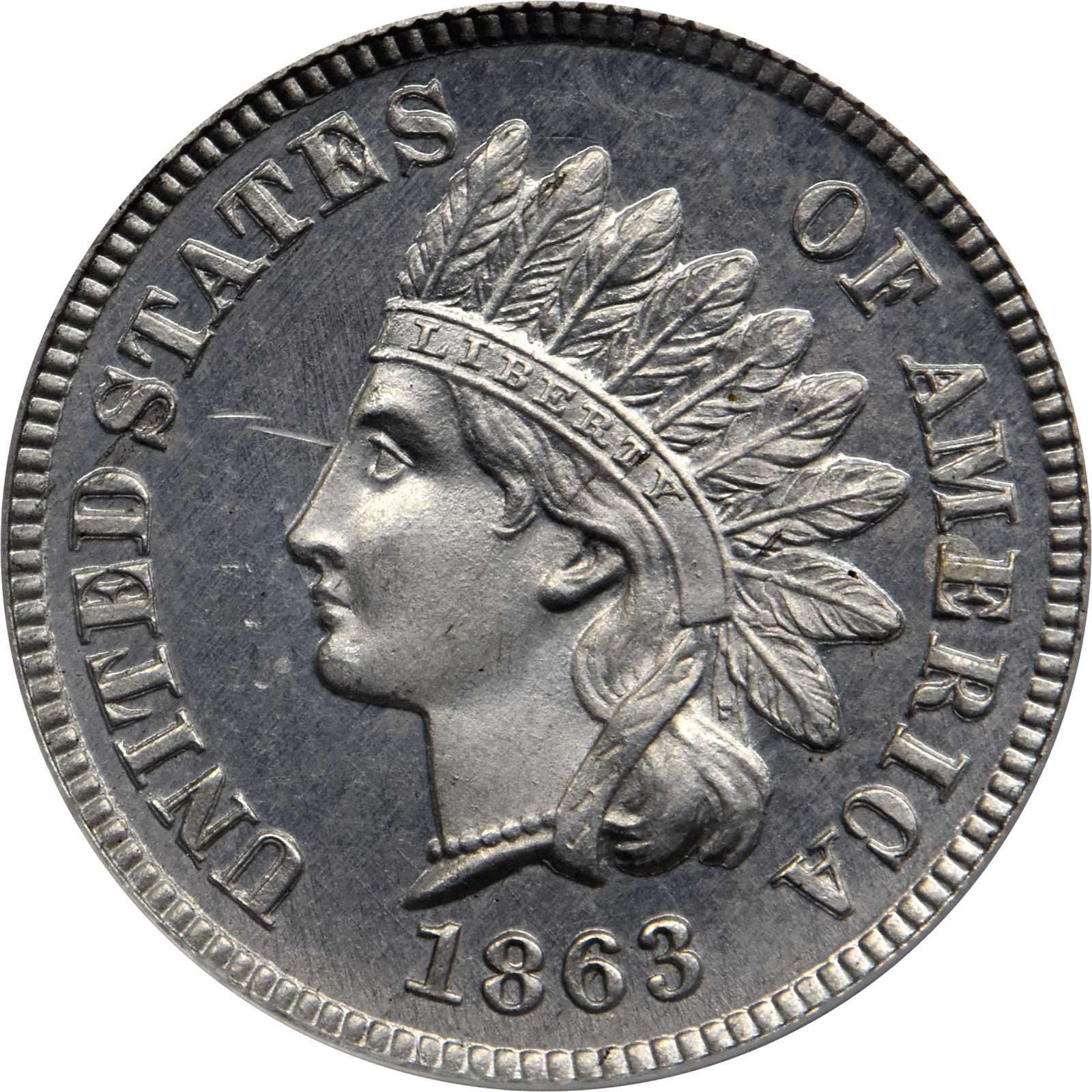 sample image for 1863 J-304 P1c PR