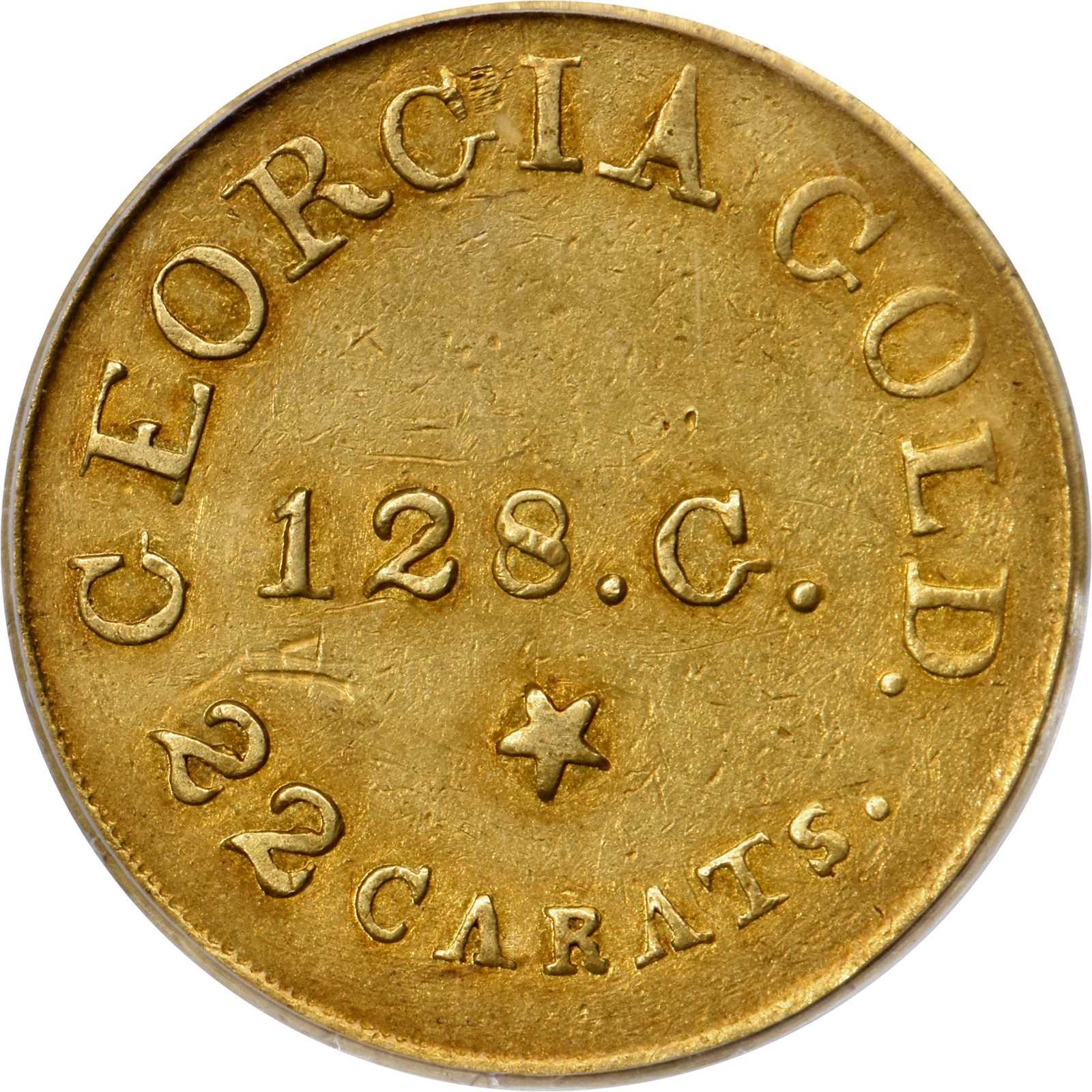 sample image for C.Becht $5 RUTHERFORD, 128 GR, 22C (K-23)