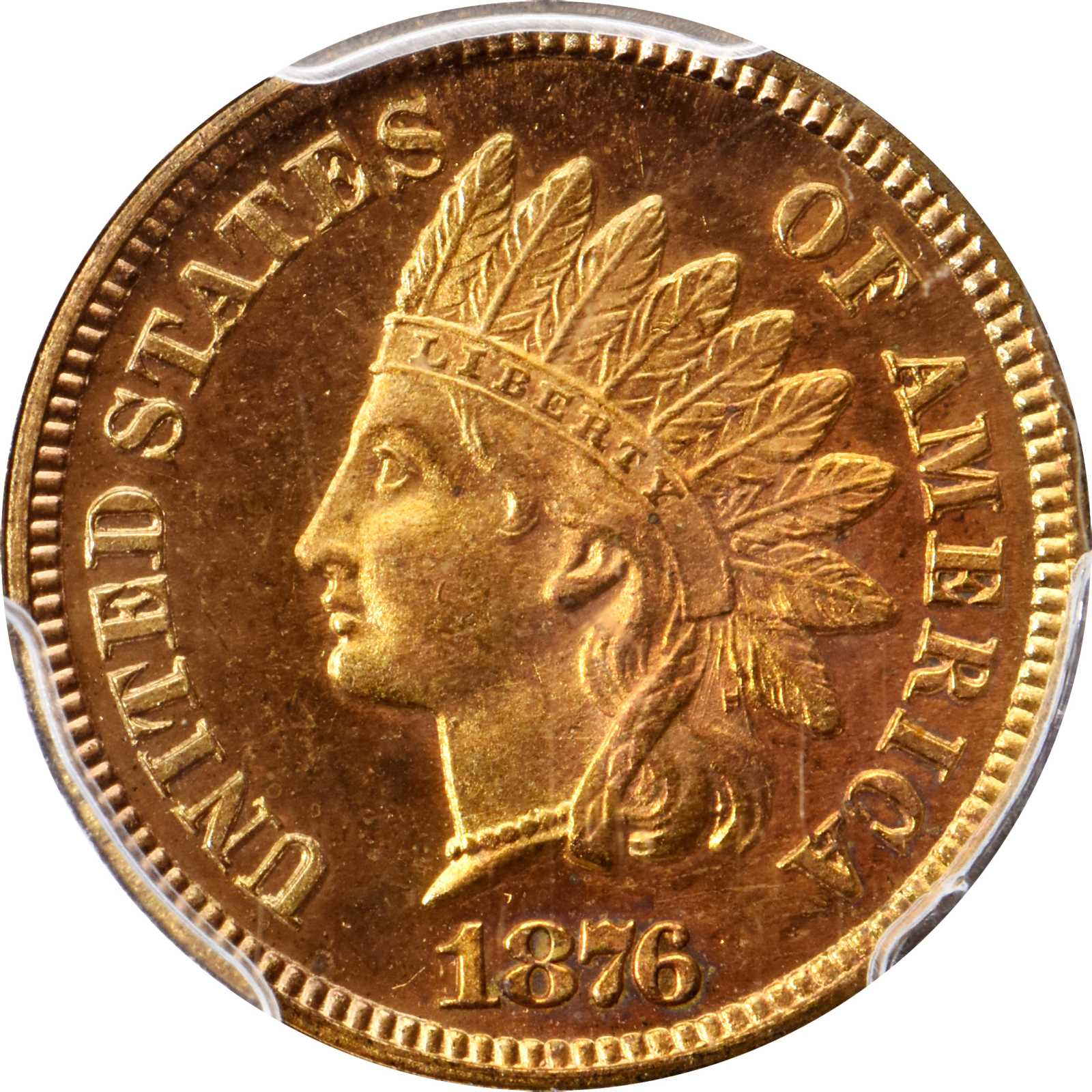 sample image for 1876 1c PR RD CAM
