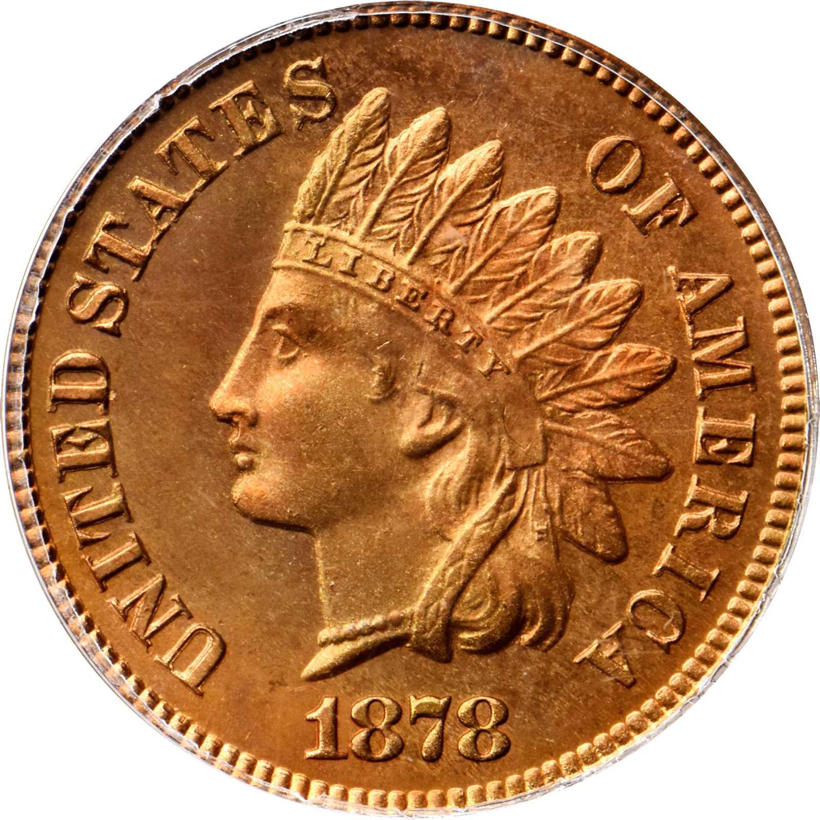 sample image for 1878 1c PR RD