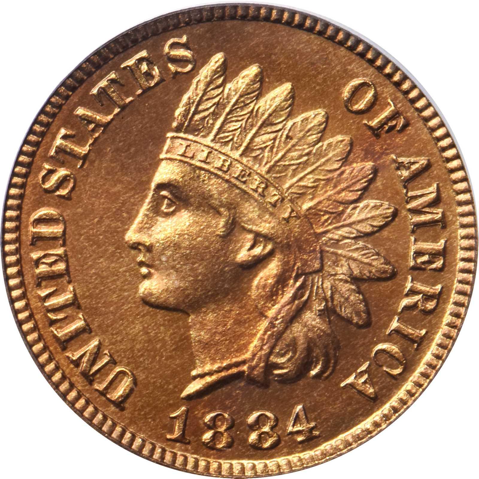 sample image for 1884 1c PR RD