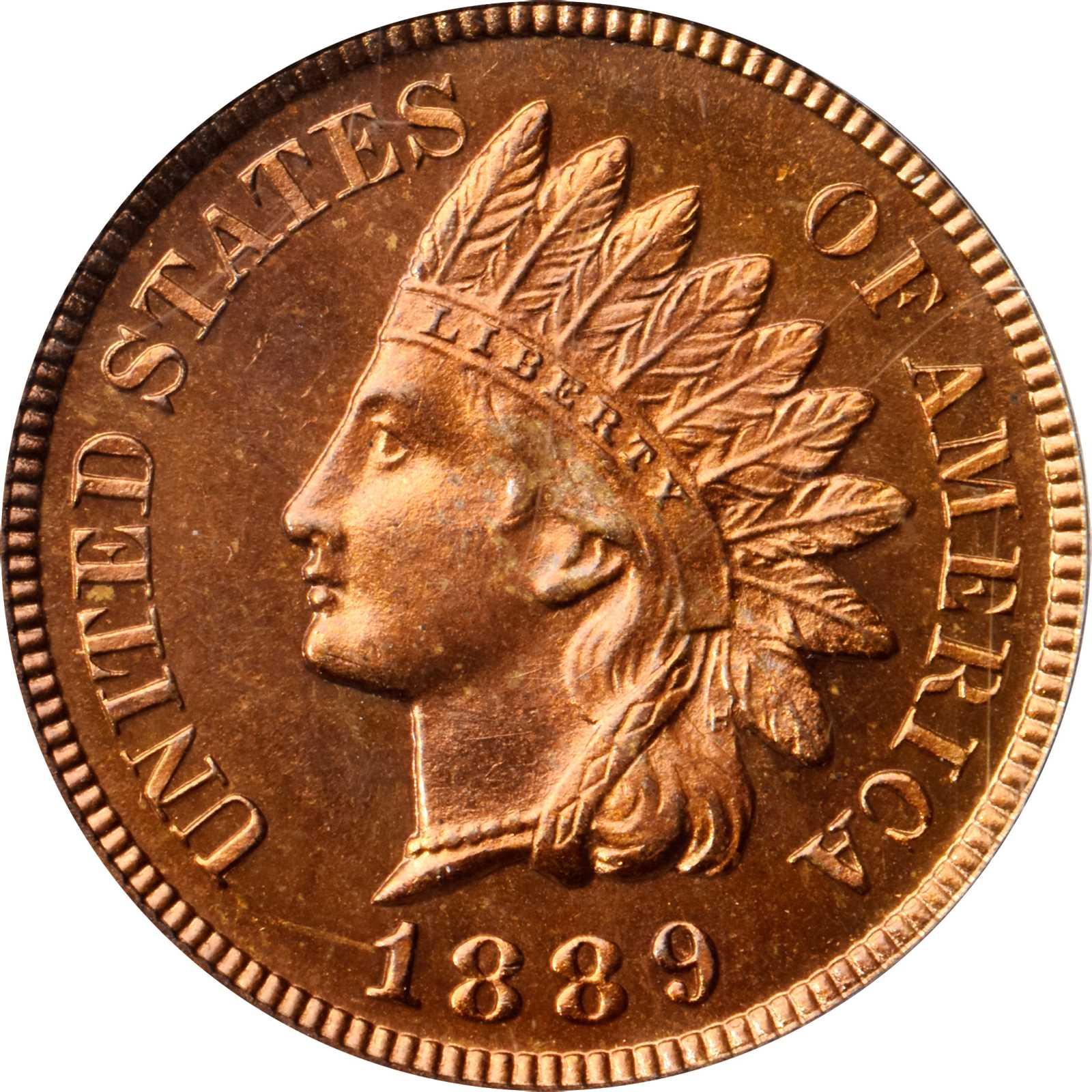 sample image for 1889 1c PR RD CAM