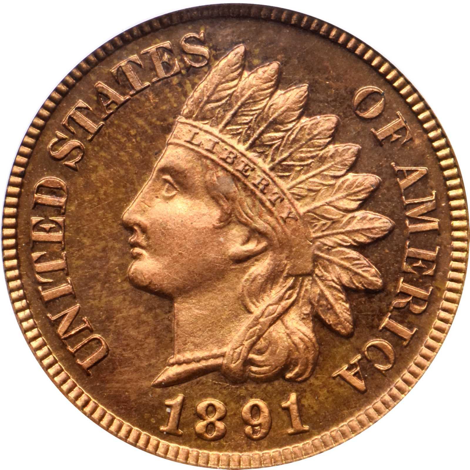 sample image for 1891 1c PR RD CAM