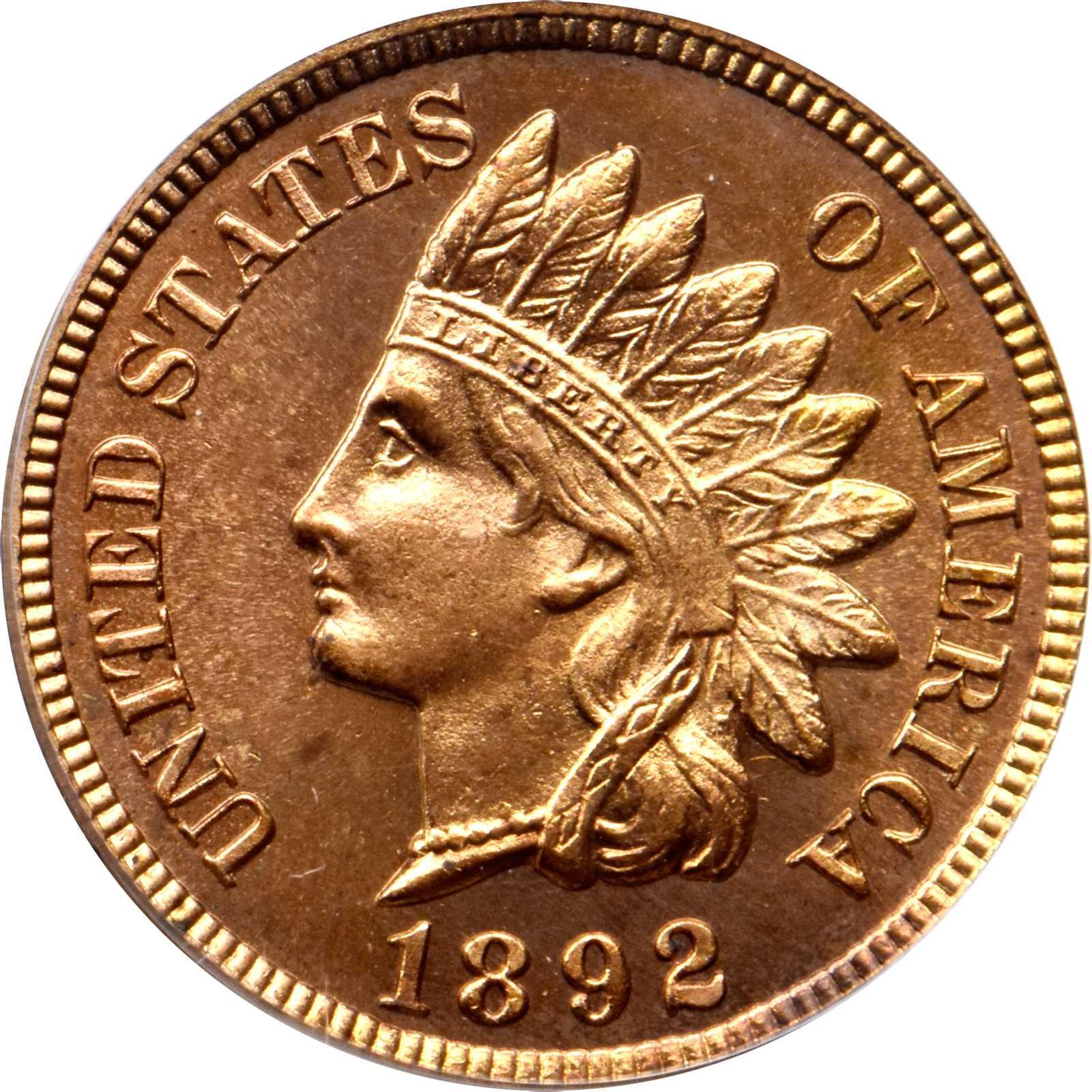 sample image for 1892 1c PR RD CAM