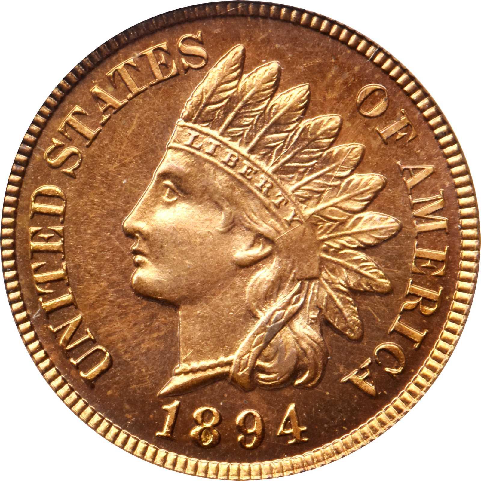 sample image for 1894 1c PR RD CAM