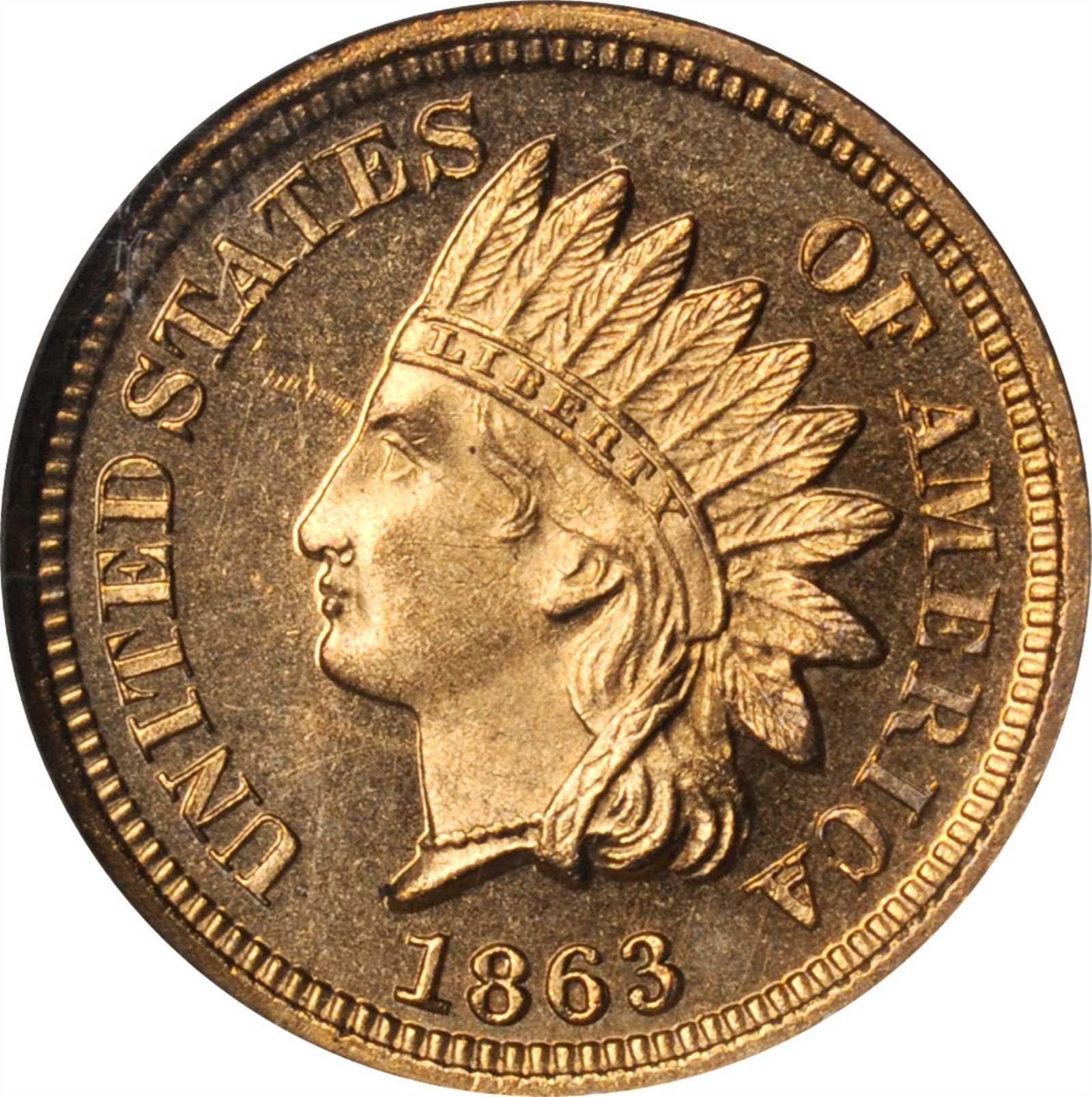 sample image for 1863 1c PR CAM