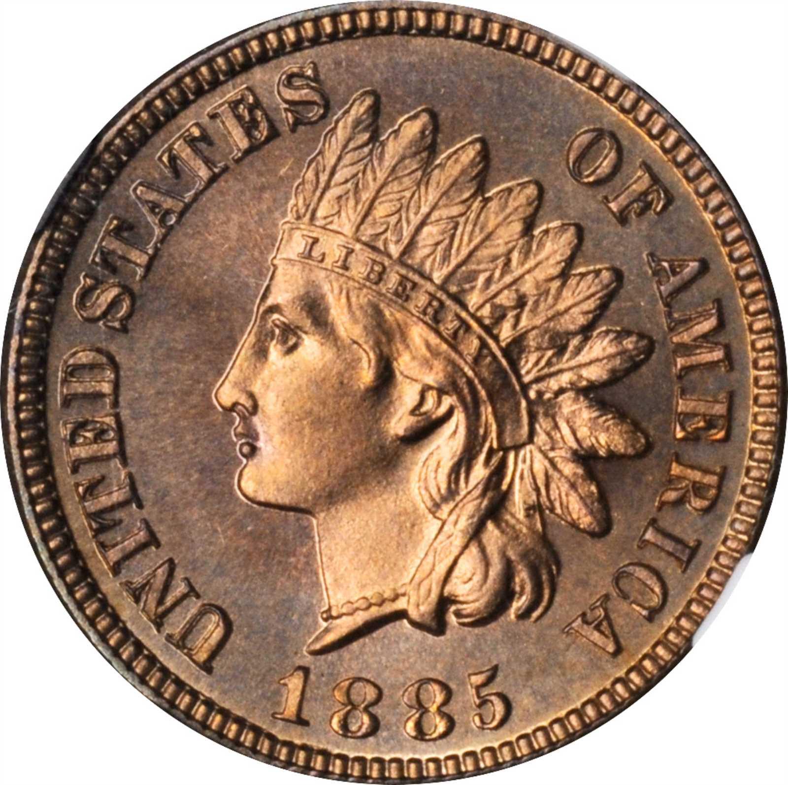 sample image for 1885 1c PR RB