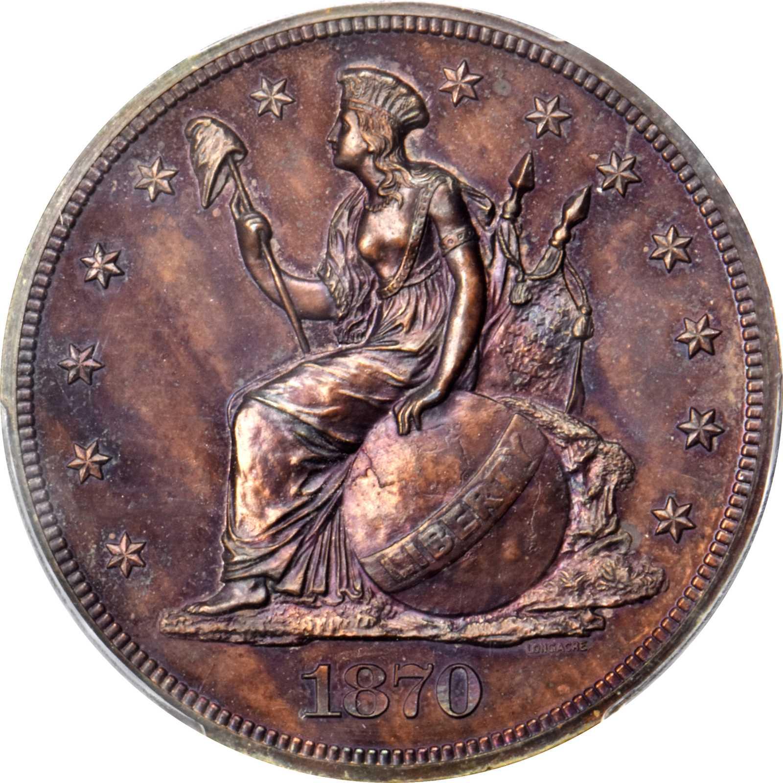 sample image for 1870 P$1 (J-1017) PR RB