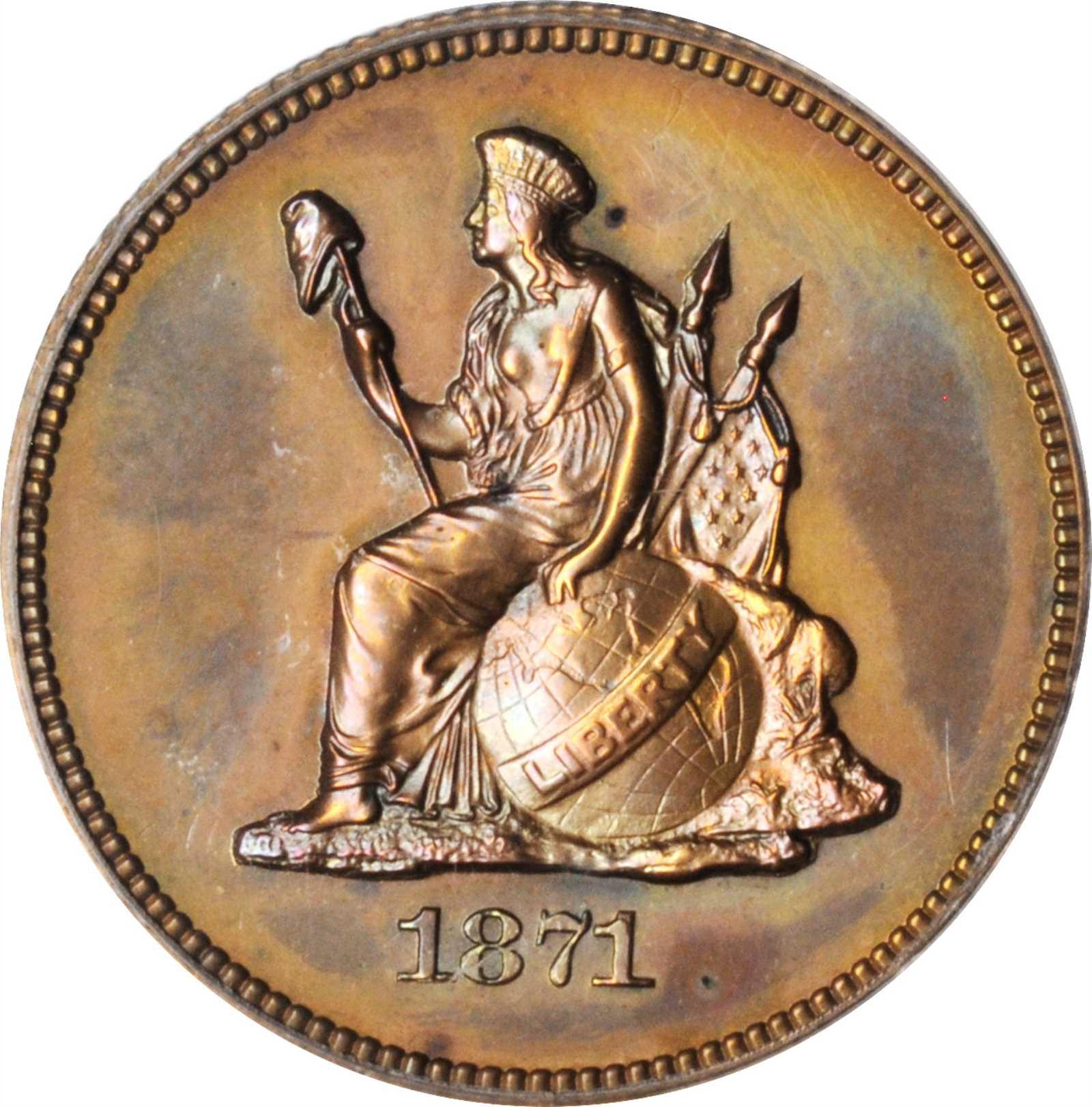sample image for 1871 P25c (J-1091) PR BN