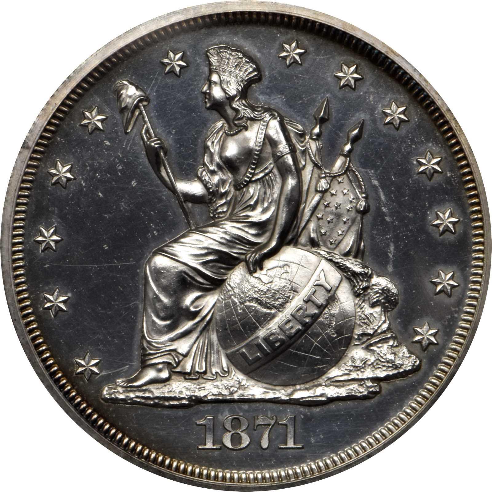 sample image for 1871 P$1 (J-1138A) PR