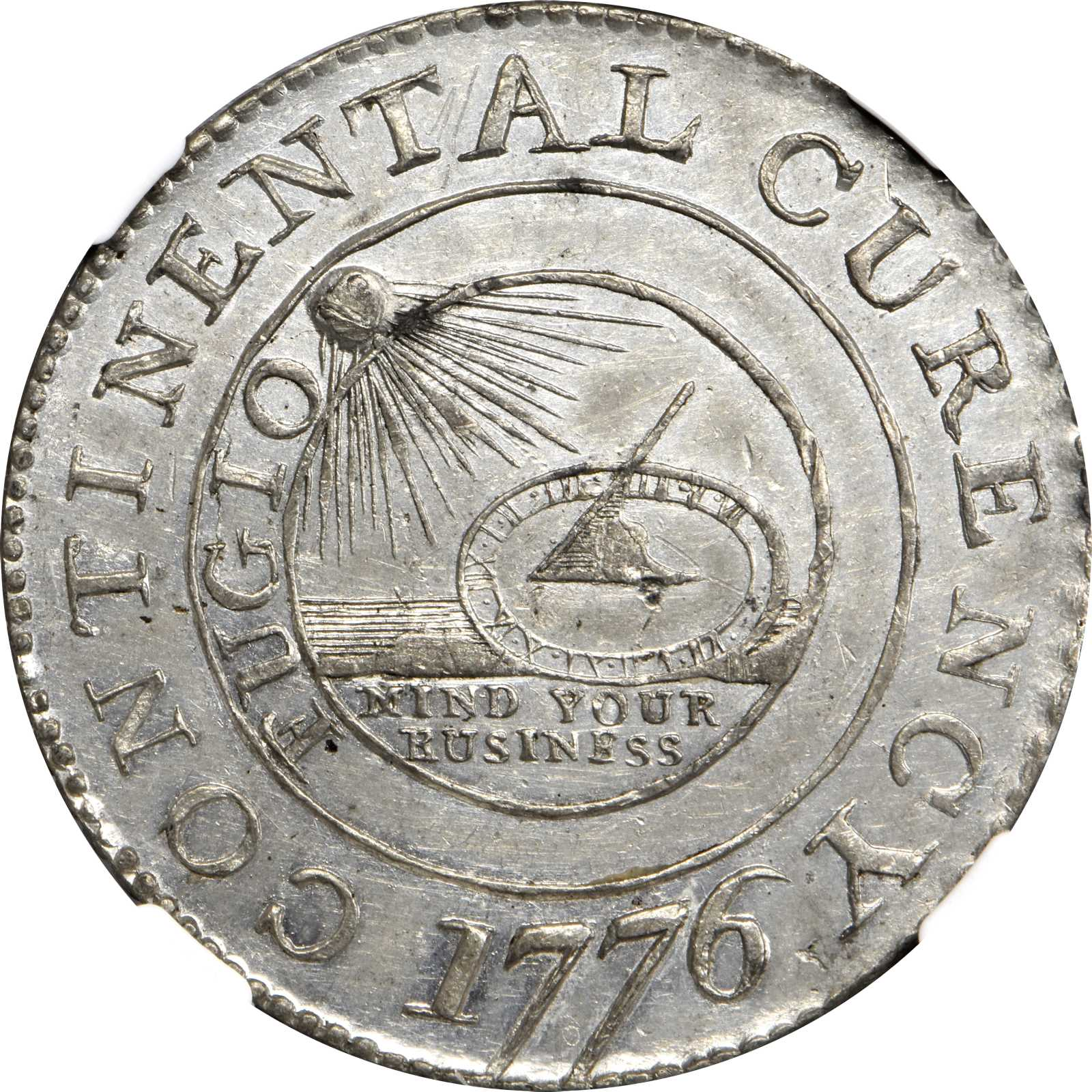 sample image for 1776 Cont Dollar, CURENCY