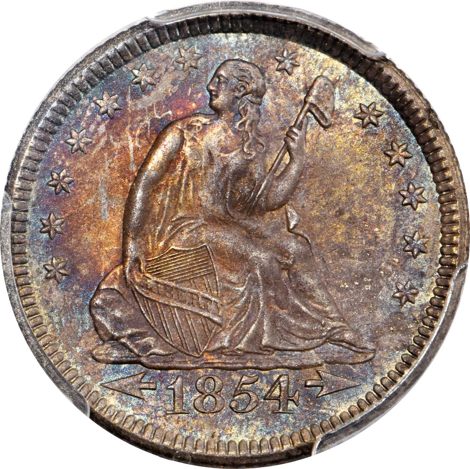 sample image for 1854-1855 25c MS Arrows [Type]