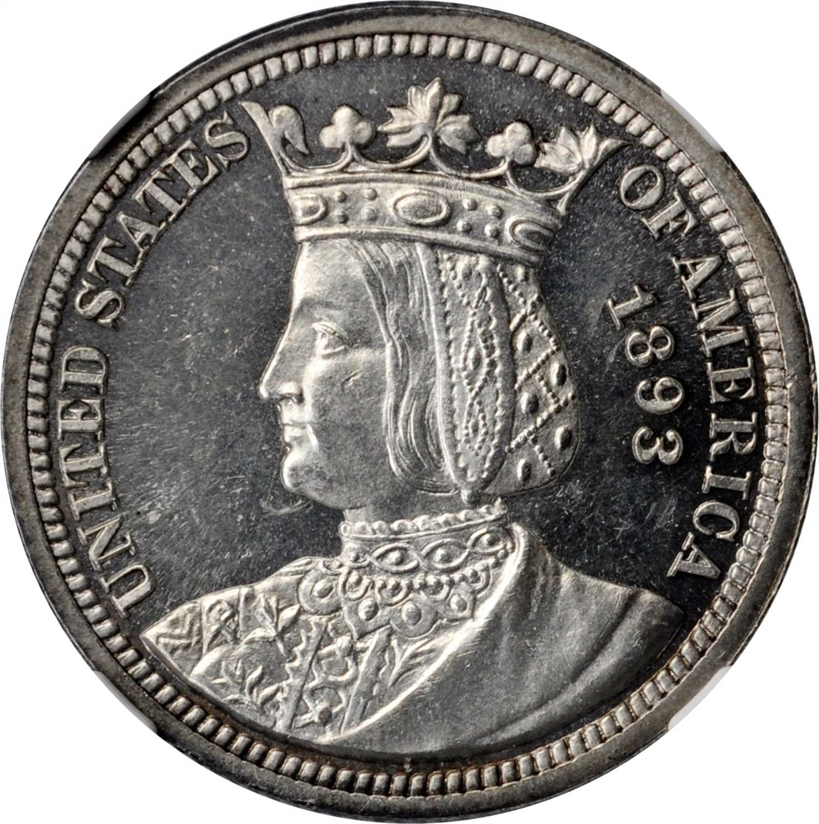 sample image for 1893 Isabella 25c PR
