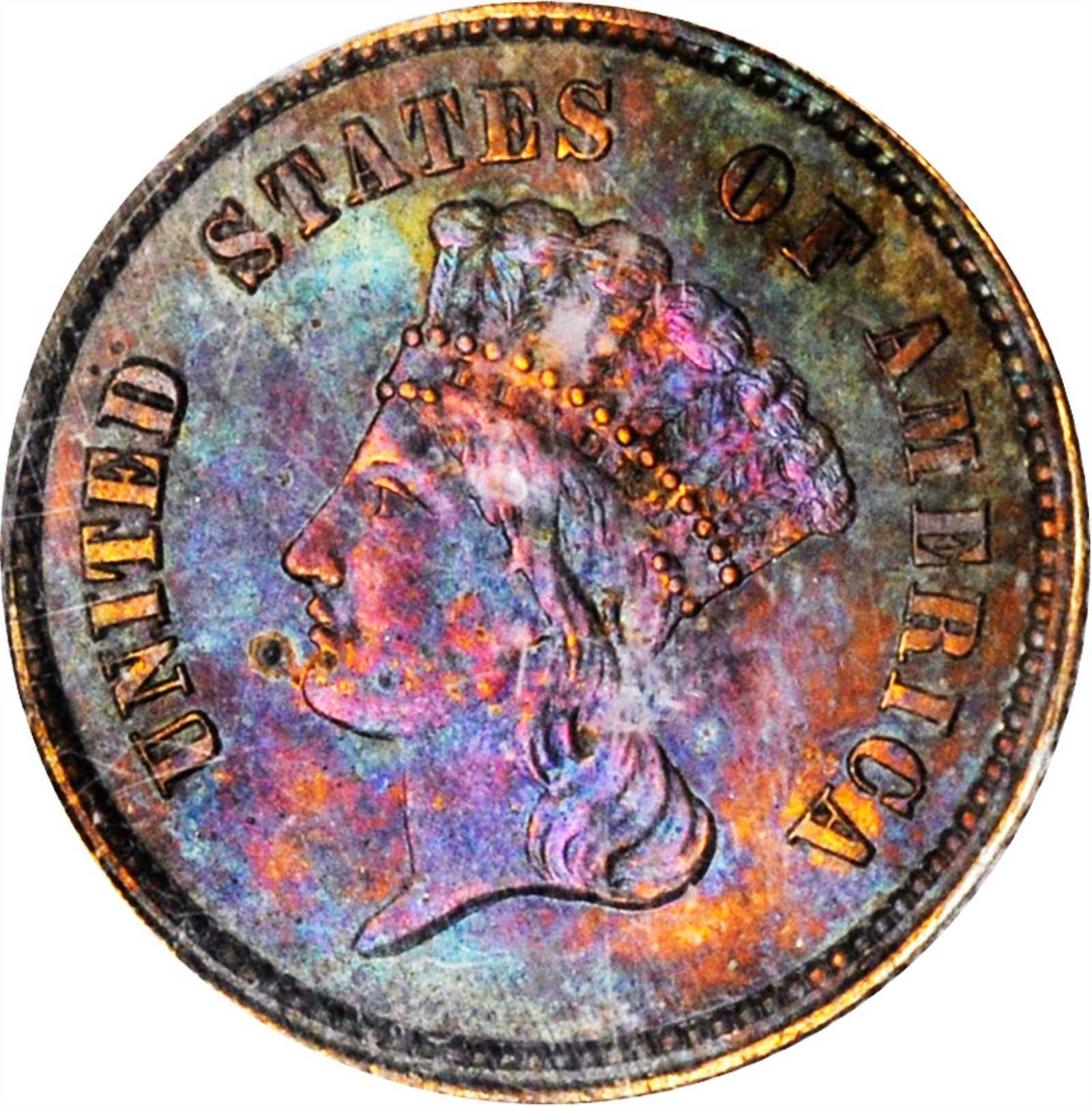 sample image for 1859 J-256 PG$1 PR BN