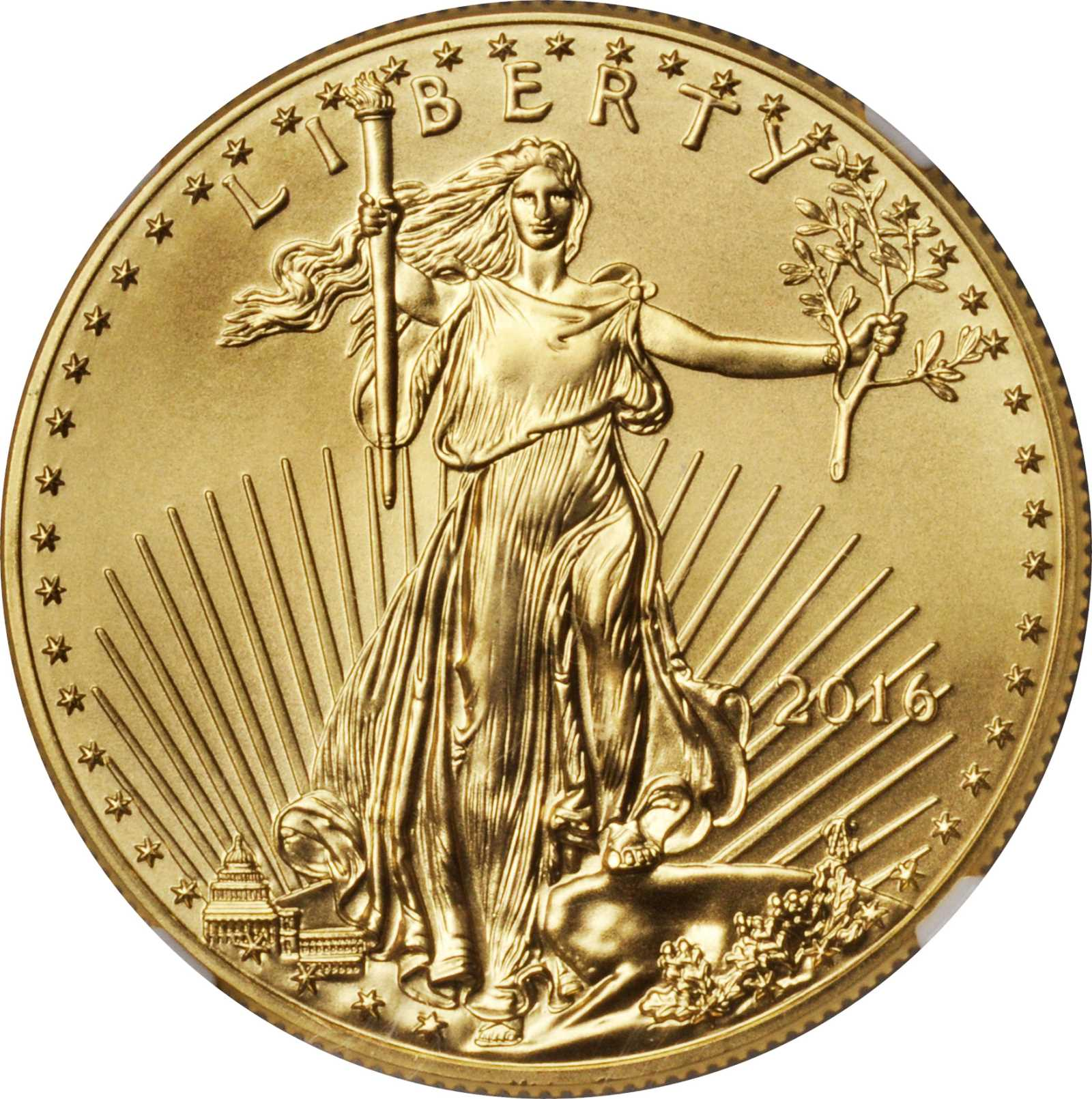 sample image for 2016 Gold Eagle $50  MS