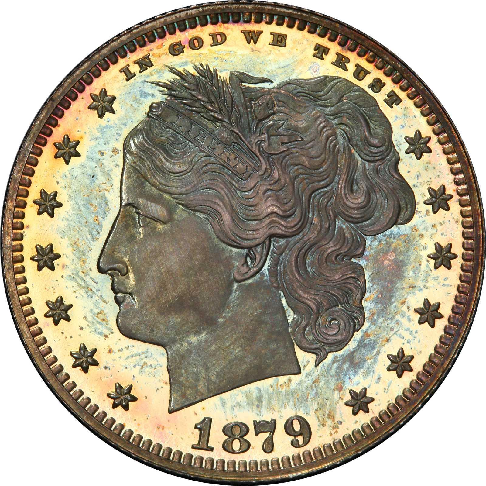 sample image for 1879 J-1590 P25c PR