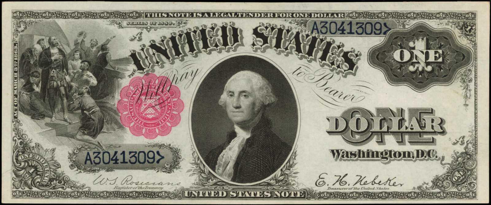 sample image for 1880 $1  (Fr.# 34)