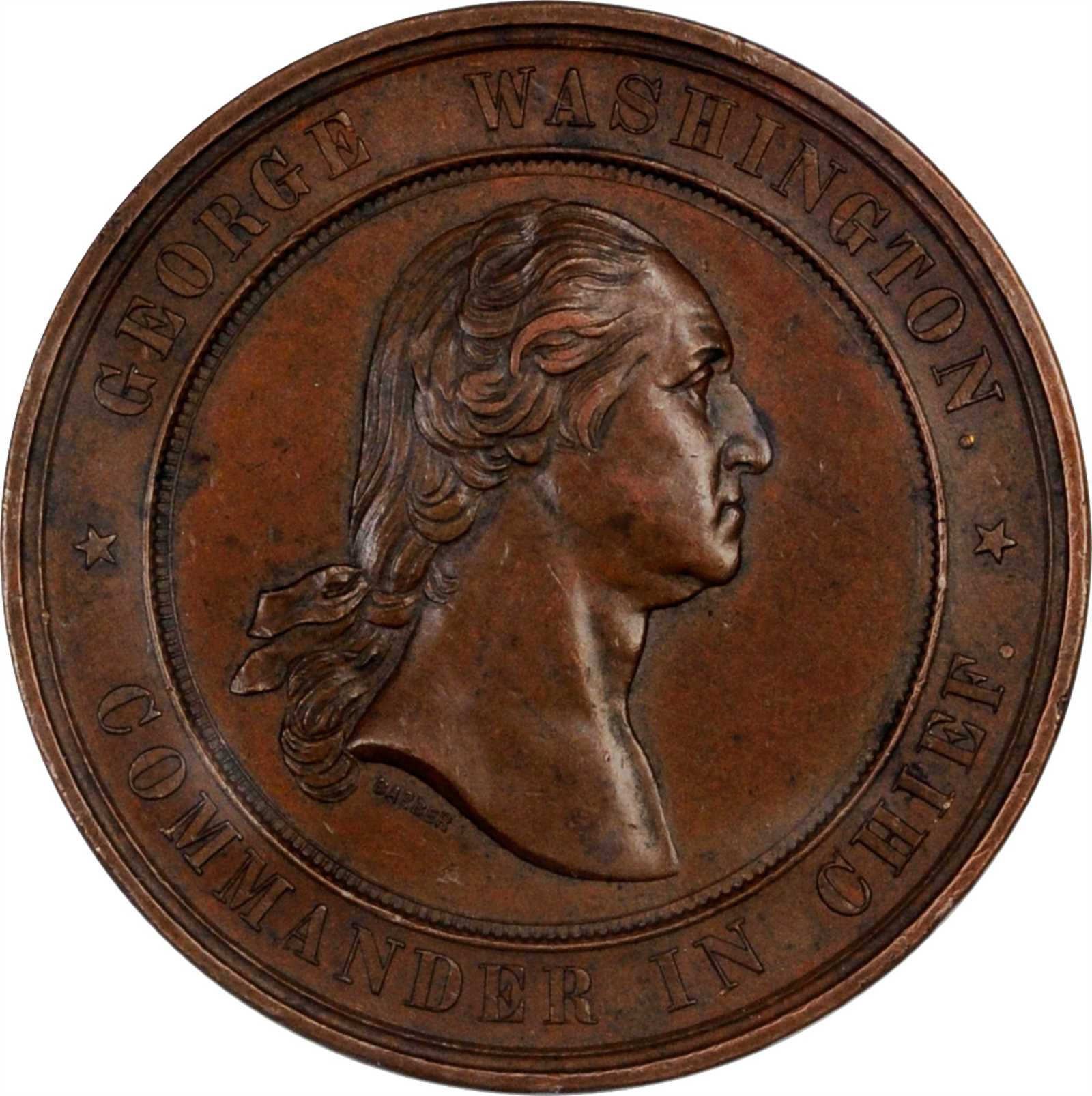 sample image for 1878 Valley Forge Centennial, Bronze SC$1 MS (HK-137)