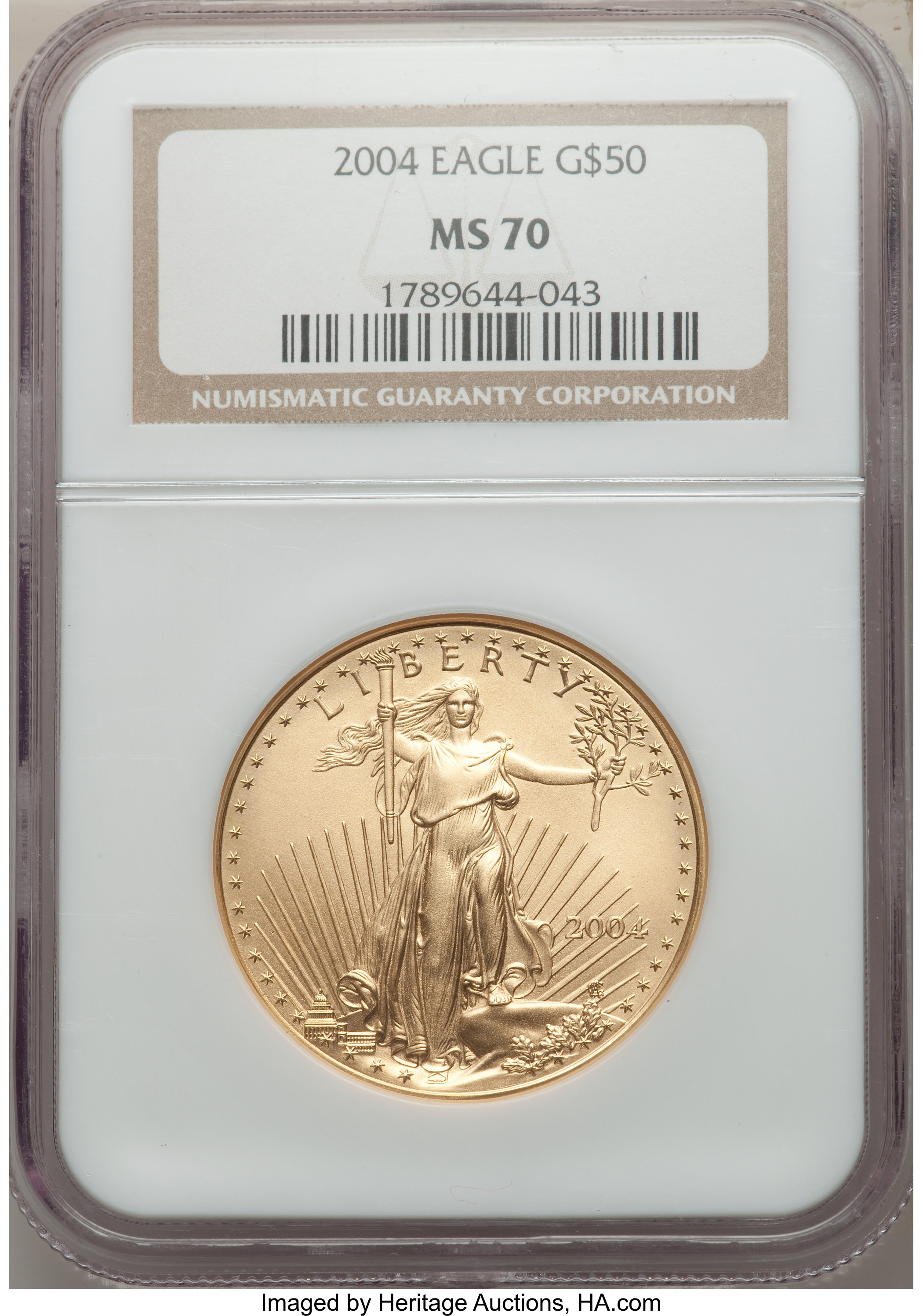 sample image for 2004 Gold Eagle $50  MS