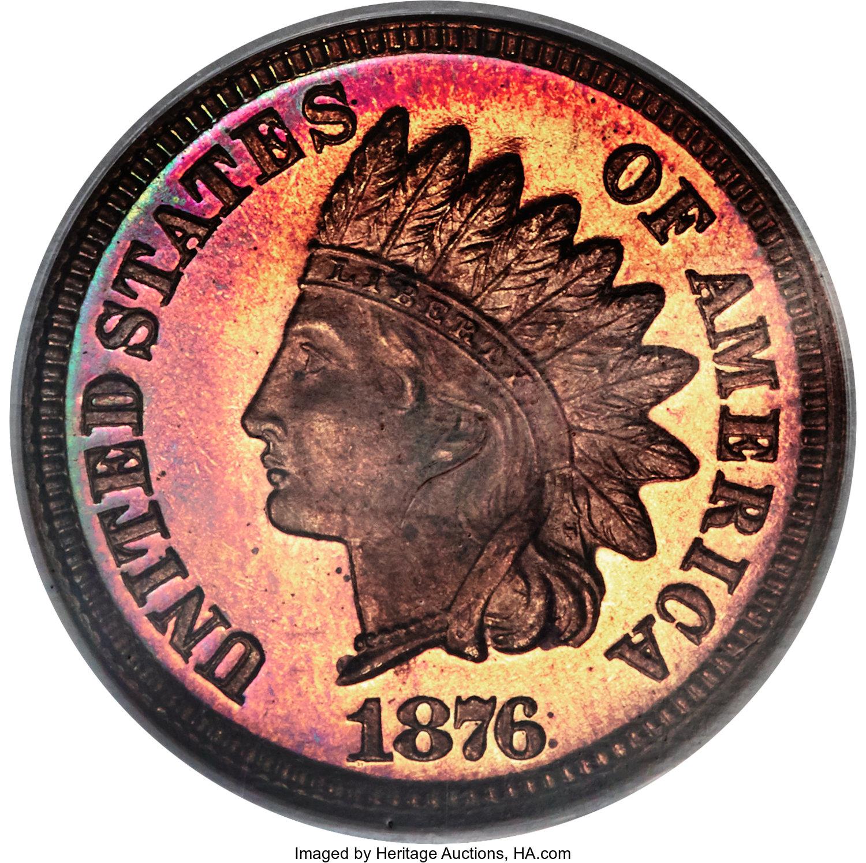 sample image for 1876 1c PR RB