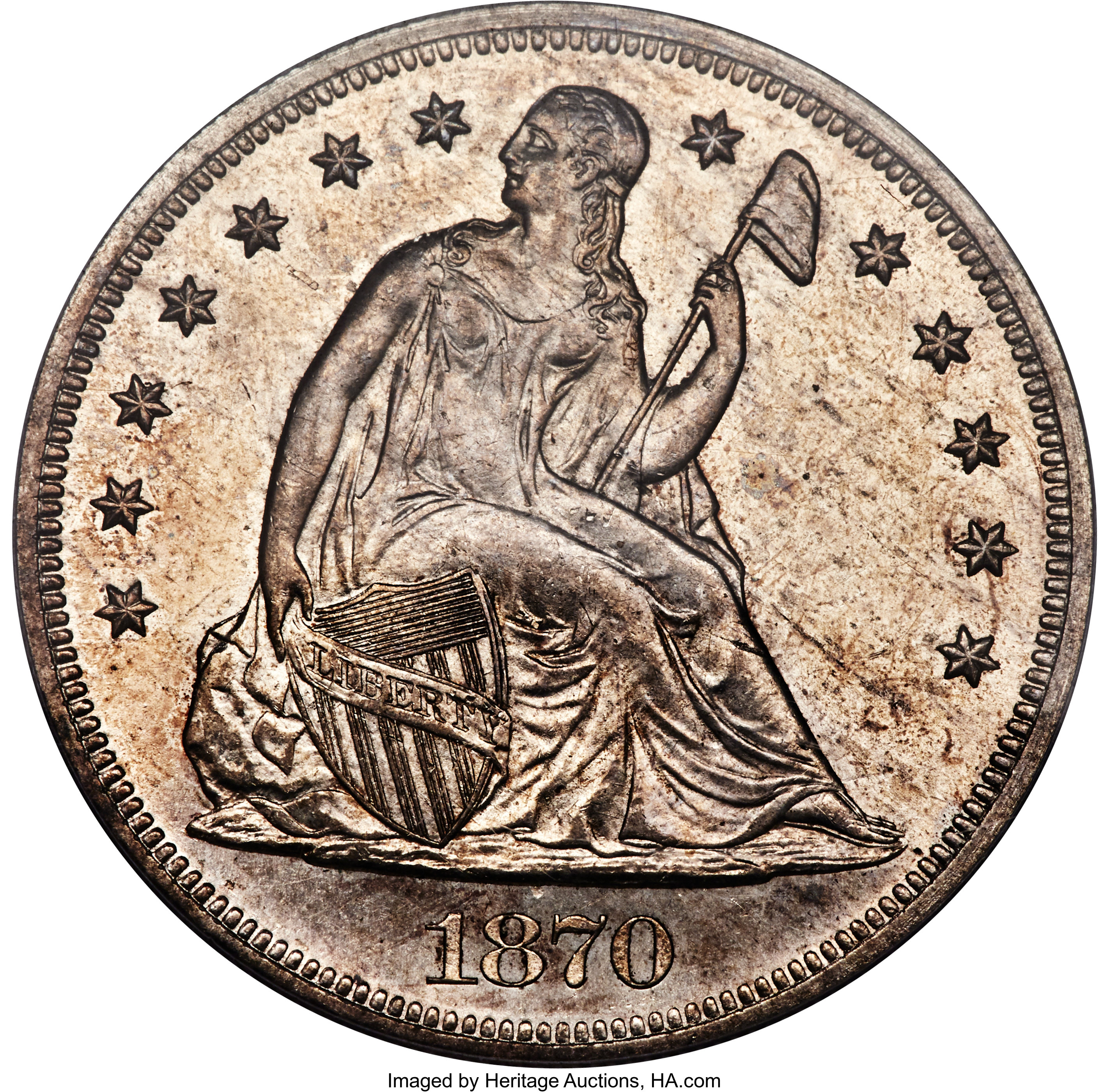 sample image for 1870-CC $1  MS