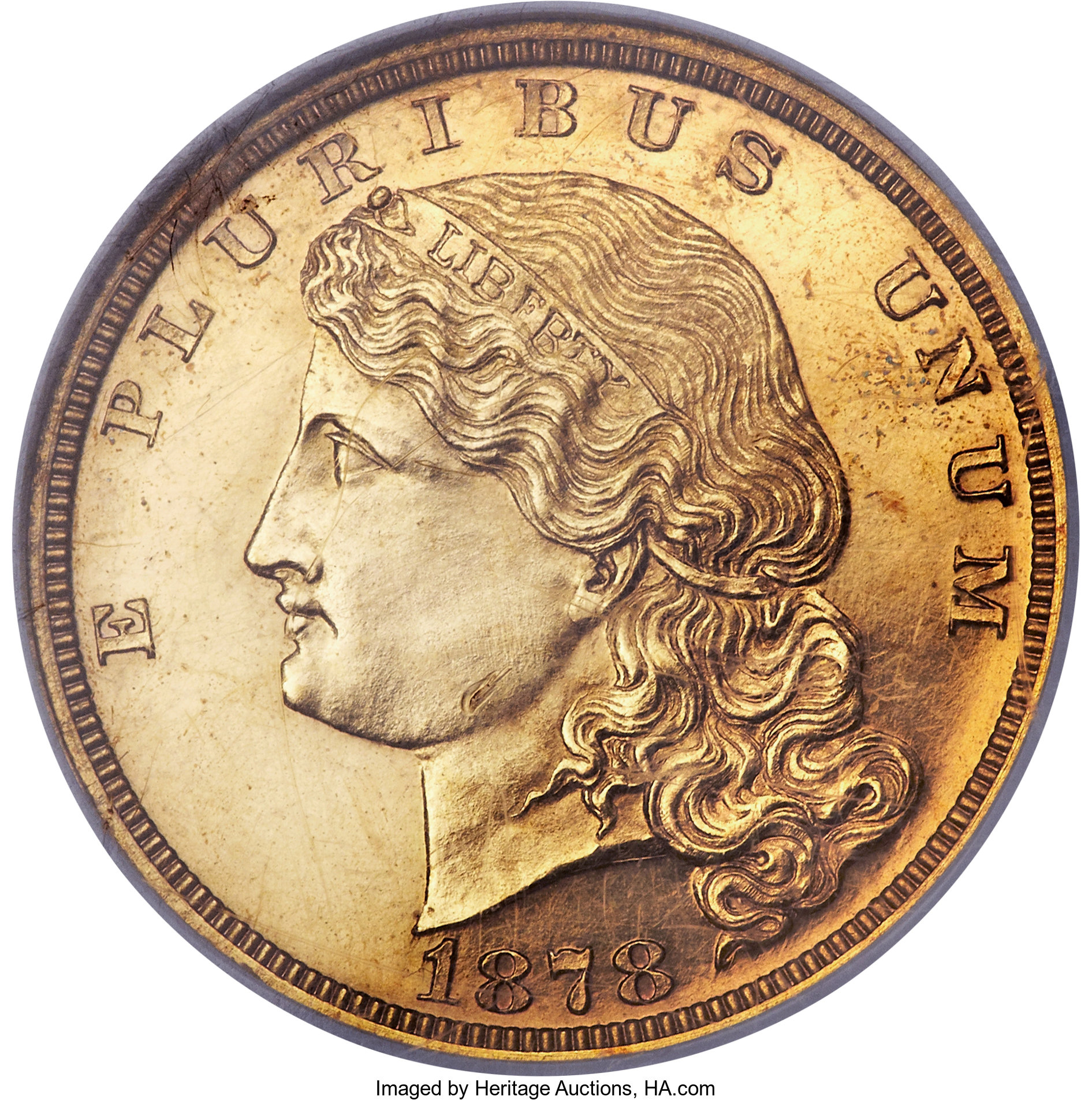 sample image for 1878 J-1574 P$5 PR BN