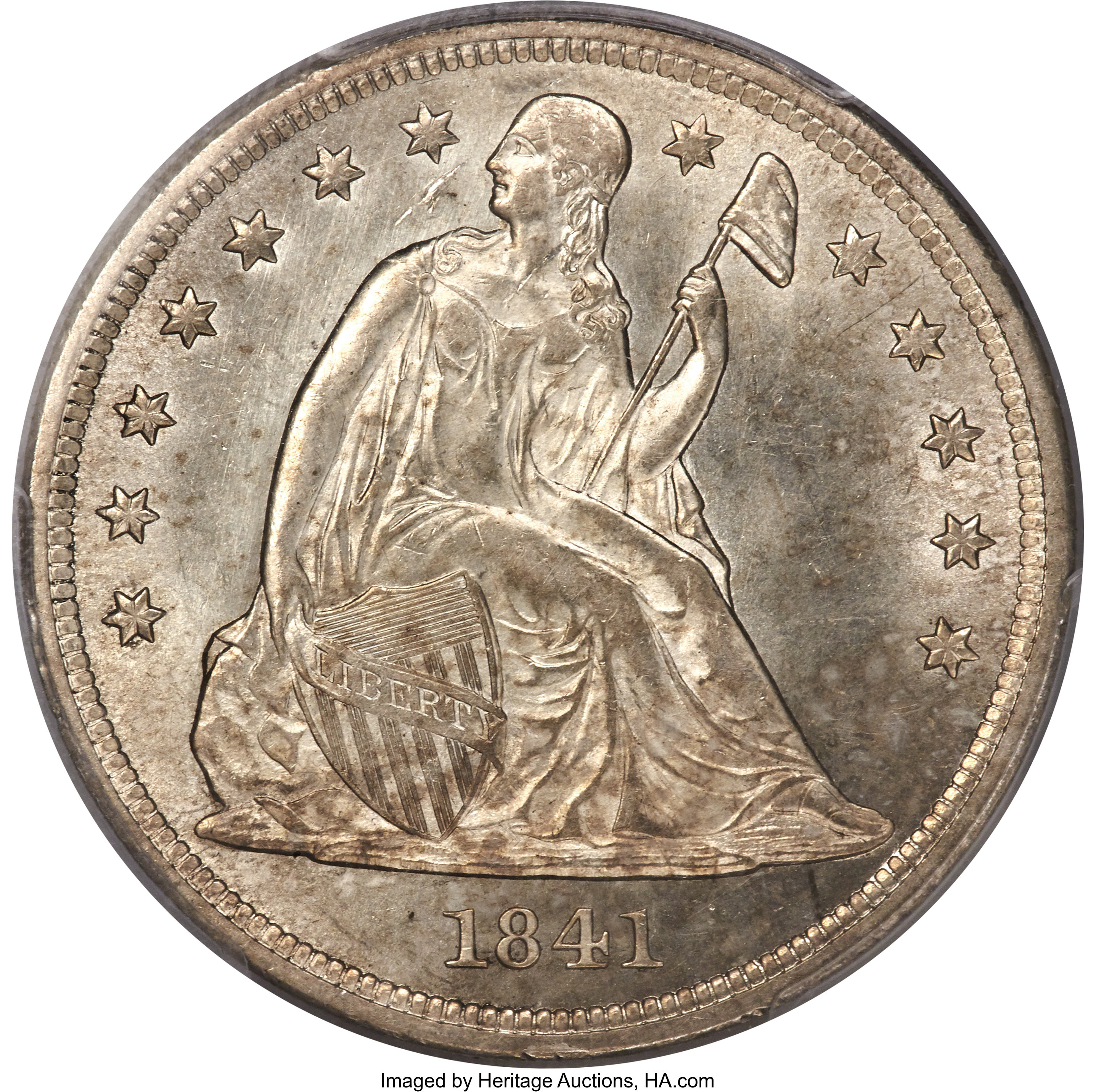 sample image for 1841 $1  MS